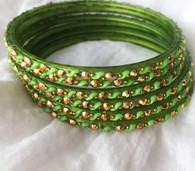 Indian Bangles - Sage - Free with $20 purchase!