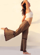 ALL NEW Rocket Pants - Crushed Bell Bottoms - Gray Black Red