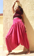 ALL NEW Harem Pant in Gorgeous Pink - S/M/L