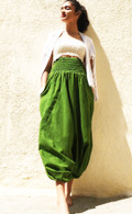 NEW Harem Pant in Gorgeous Green - XS/S