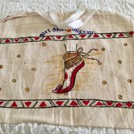 Beautiful Hand Painted Cloth Bag #30