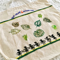 Beautiful Hand Painted Cloth Bag #32