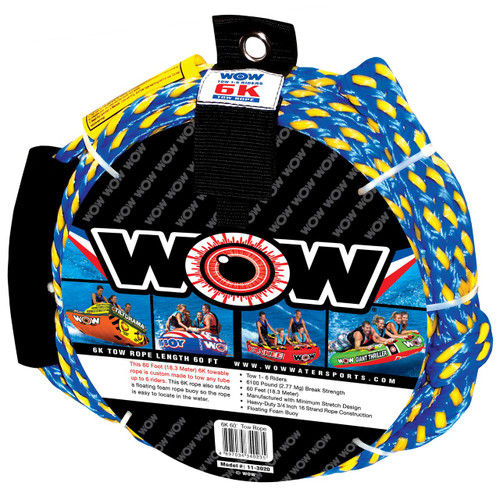 WOW 6K 60' Tow Rope