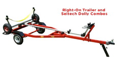 Sailboat Dolly Trailer with Sunfish Dolly