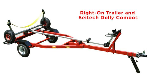 Sailboat Dolly Trailer with Laser Dolly Combo
