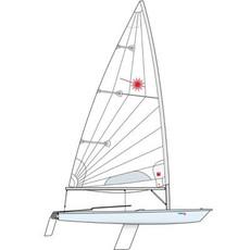 Laser XD, Composite Upper Mast