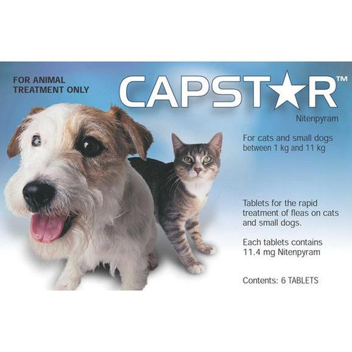 Capstar Small Dog and Cat Tablets
