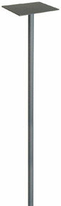 Mailbox Pole - Standard - Silver/Gray