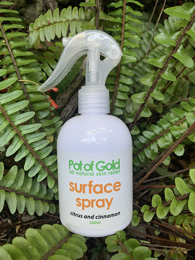 Pot of Gold Body Surface Spray : Citrus & Cinnamon 250ml