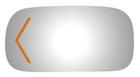2009 BUICK LUCERNE Driver Side Mirror - 4407S