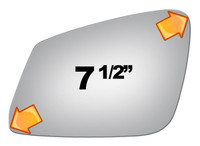 2013 BMW 640I GRAN COUPE Driver Side Mirror - 4295