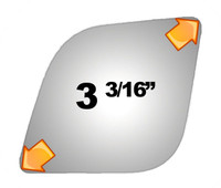 2013 FORD TRANSIT CONNECT  Mirror - 3933