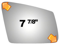 2011 MERCEDES-BENZ C63 AMG  Mirror - 5479