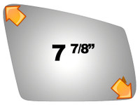 2011 MERCEDES-BENZ C250  Mirror - 5479B