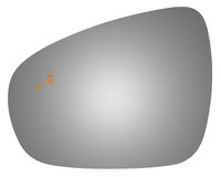 2016 LEXUS IS300 Driver Side Mirror Glass - 4465B