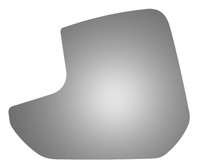 2018 FORD TRANSIT CONNECT Driver Side Mirror Glass - 4562