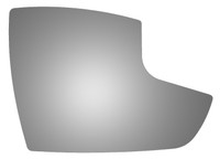 2018 FORD C-MAX Passenger Side Mirror Glass - 5528