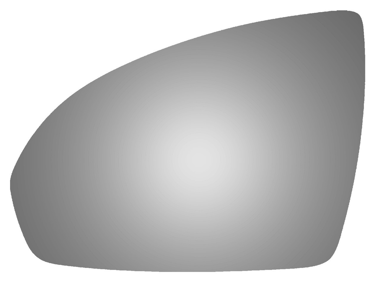 2015 SMART FORTWO Driver Side Mirror Glass - 4464