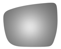 2019 NISSAN ROGUE Driver Side Mirror Glass - 4609
