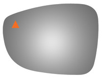 2019 CHRYSLER PACIFICA Driver Side Mirror Glass - 4662BC