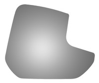 2019 FORD TRANSIT CONNECT Passenger Side Mirror Glass - 5604