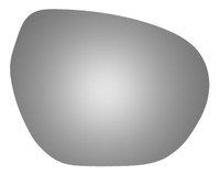 2019 BUICK ENVISION Passenger Side Mirror Glass - 5709