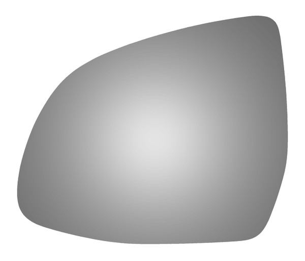 2019 BMW X3 Driver Side Mirror Glass - 4591