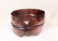 MM156 - Folded Copper Cuff