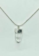 sterling silver pendant with phantom quartz