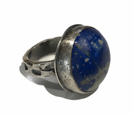 Lapis and Sterling Silver Ring