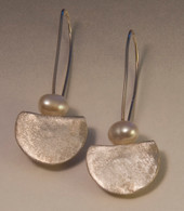 sterling silver and fresh water pearls