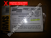 AeroTech F22 Black Jack RMS 29/40-120