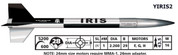 """LOC Precision 2.26"""" IRIS"""