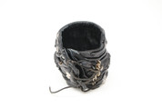 Four Inlaid Vintage Rockstar Skull and Chain Wristband