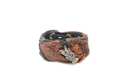 Brown & Down Dragon Cuff