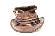 LA-Riga Crumpled Boss of the Plains Top-Hat