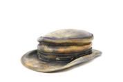 LA-Riga Low/Egg Topper Outback Vintage Brown Hat