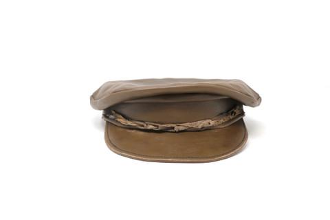 LA-Riga Brown Braided Sailors Hat