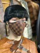 Custom Louis Vuitton Face  Mask