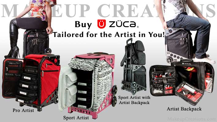 zuca pro makeup artist cases and bags. Black Bedroom Furniture Sets. Home Design Ideas
