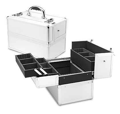 Professional Series Silver Makeup Case