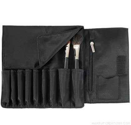 Japonesque 9 -Pocket Makeup Brush Case