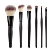 6 Piece Pro Vegan Brush Set