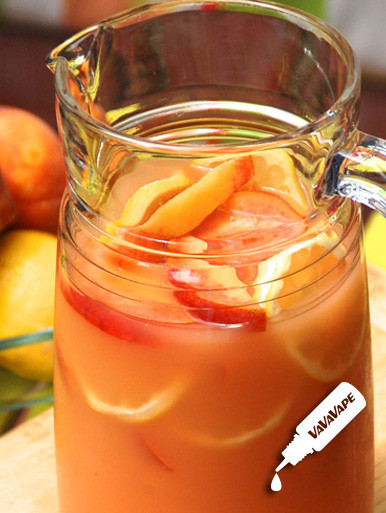 Peach Punch VaVaVape Max VG Drip Line E-Juice