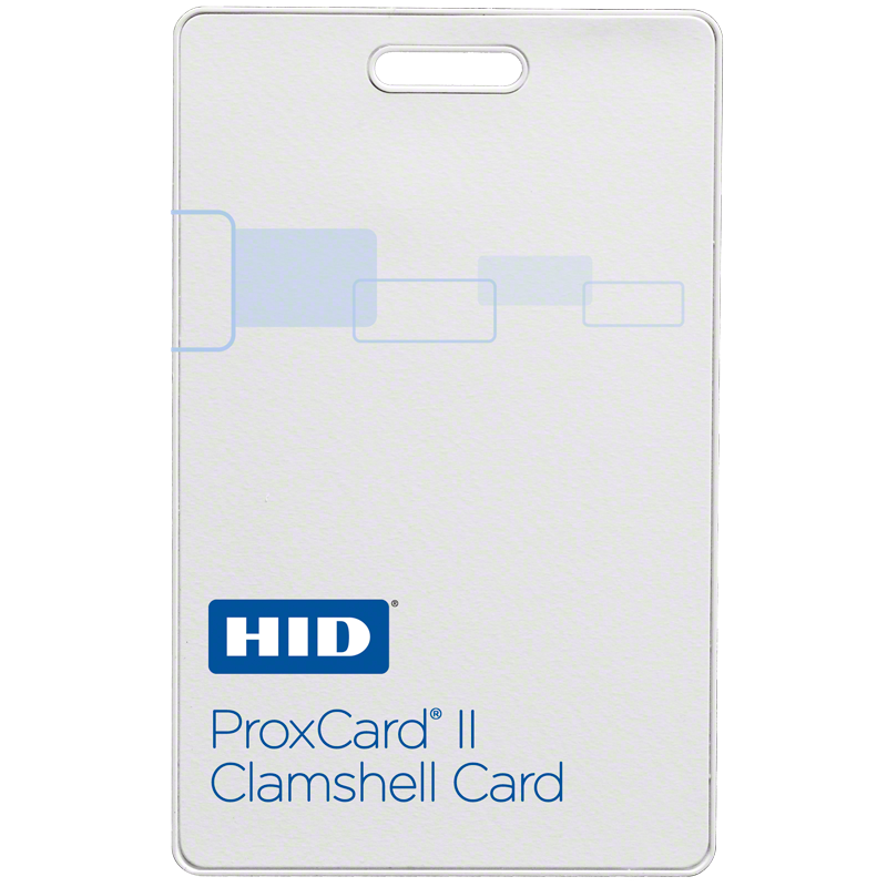 HID 1326 Clamshell Prox Card - 37 Bit H10302 - ProxCards