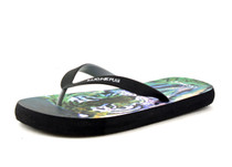Luckers Men's Modern Siberian Tiger Flip Flops