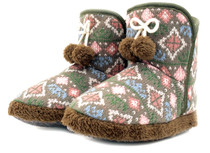 Luckers Women's Cathedral Graphic Slipper Boots