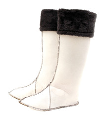 Luckers Women's Tall Fleece Rain Boots Liners