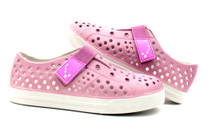 Luckers Kids Water Slip-On Sneaker, Color Pink Mist
