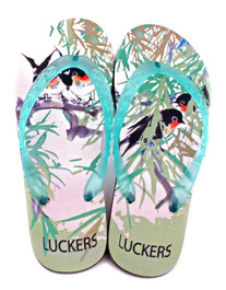 Luckers Women's Lovebirds Flip Flops